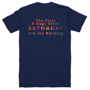 Saturday Not Live Sunburst Unisex T-shirt (Includes Back Printing)