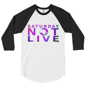 Saturday Not Live 3/4 sleeve shirt