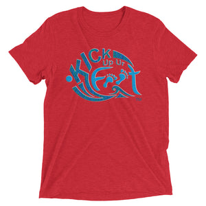 Kick Up Ur Feet™ Universal Tri-blend Limited Edition T-shirt w/Ocean Blue Logo
