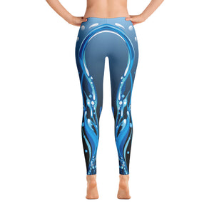 Blue Lagoon Waterfall Limited Edition Leggings