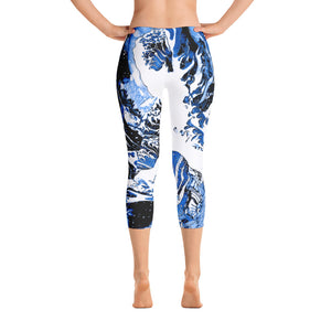 Ocean Blue Epic Wave Limited Edition Capris