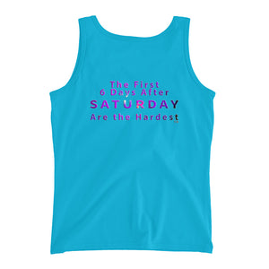 Saturday Not Live Ladies' Tank (Includes Back Printing)