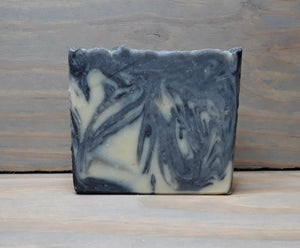Unscented Activated Charcoal Facial Goat Milk Soap