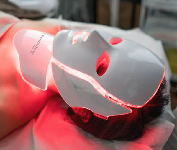 Permaderm IlluMask Pro - LED Light Mask for Acne and Anti-Ageing
