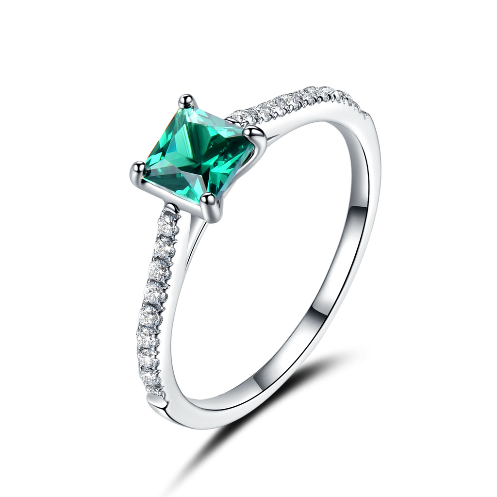 UMCHO Green Emerald Gemstone Ring - umchos
