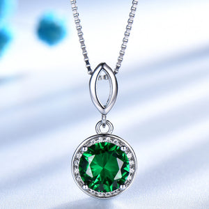 UMCHO 925 Sterling Emerald Gemstone Jewelry sets - umchos