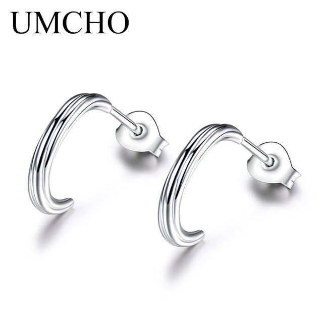 UMCHO Luxury Real 925 sterling silver earrings - umchos