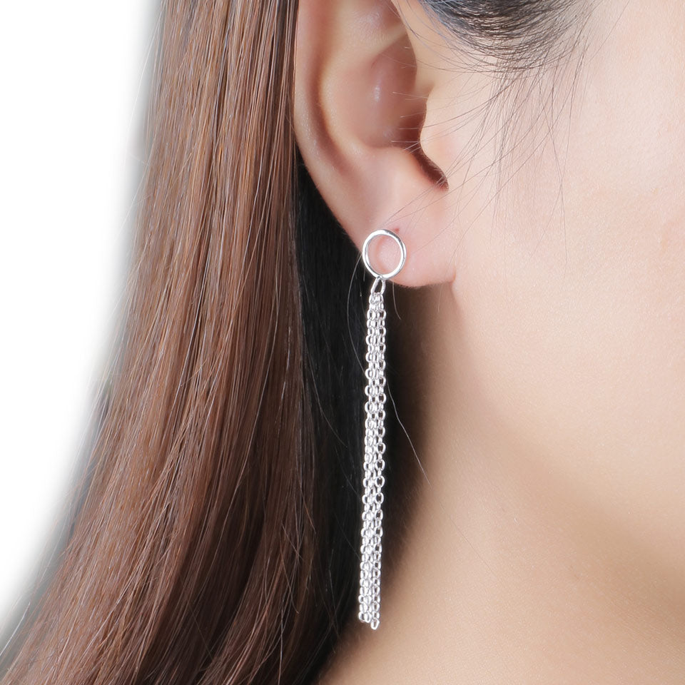 UMCHO Real Silver 925 Jewelry Drop Earrings - umchos