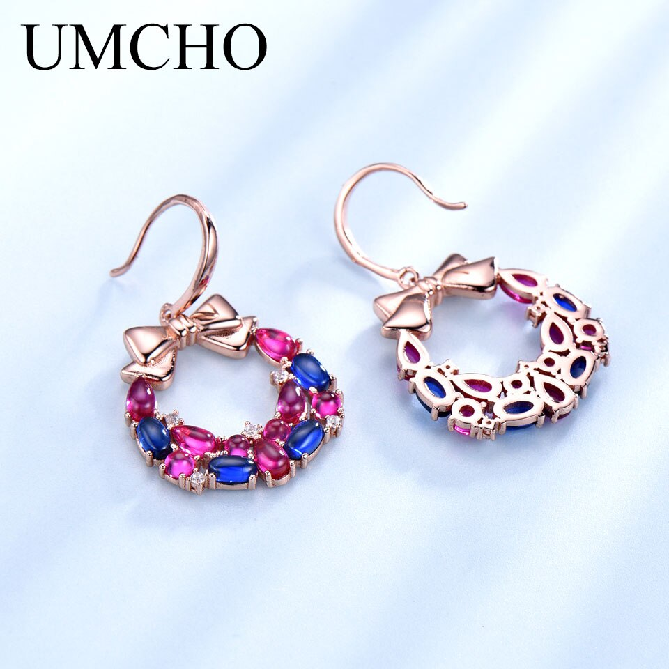UMCHO 925 Sterling Silver  Christmas Earring - umchos