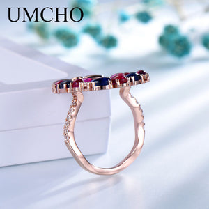 UMCHO S925 Christmas Sterling Silver Ring - umchos
