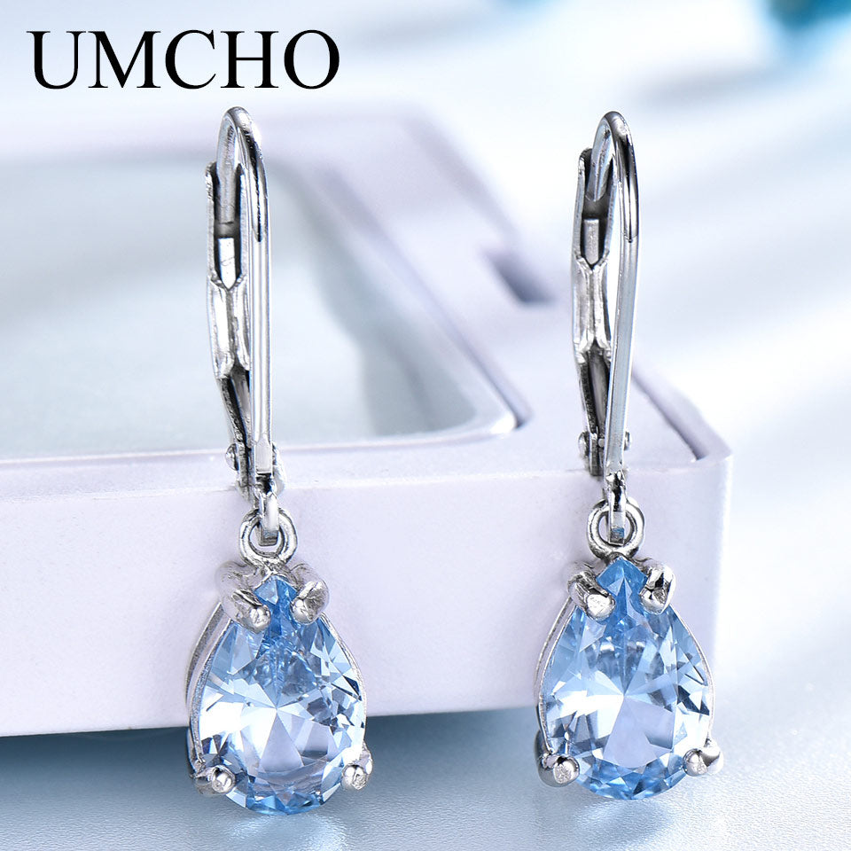 UMCHO Solid 925 Sterling Silver Clip Earrings - umchos
