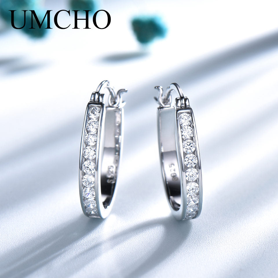 UMCHO 925 Silver Clip Earrings - umchos
