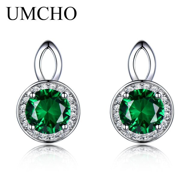 UMCHO Pure 925 Sterling Silver Stud Earring - umchos