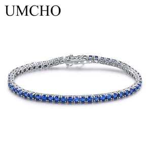 UMCHO Rich Color Created Ruby Bracelet - umchos