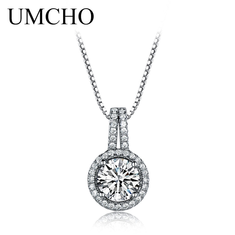 925 Sterling Silver Statement Necklace - umchos