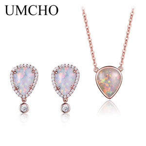 UMCHO Real 100% 925 Sterling Silver Jewelry Set - umchos