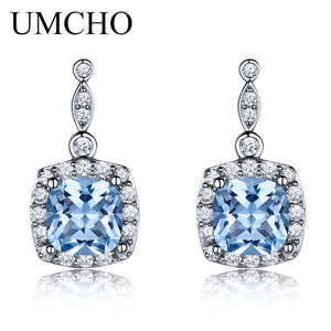 UMCHO Solid 925 Sterling Silver Drop Earrings - umchos