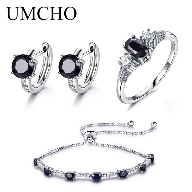 UMCHO Solid 925 Sterling Silver Jewelry Set - umchos
