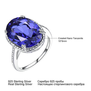UMCHO Luxury Tanzanite Gemstone Ring - umchos