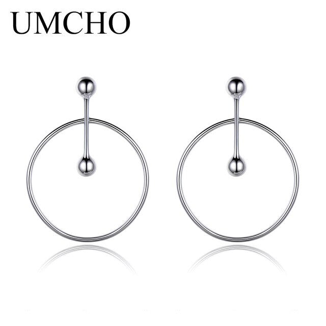 Solid 925 Sterling Silver Earrings - umchos