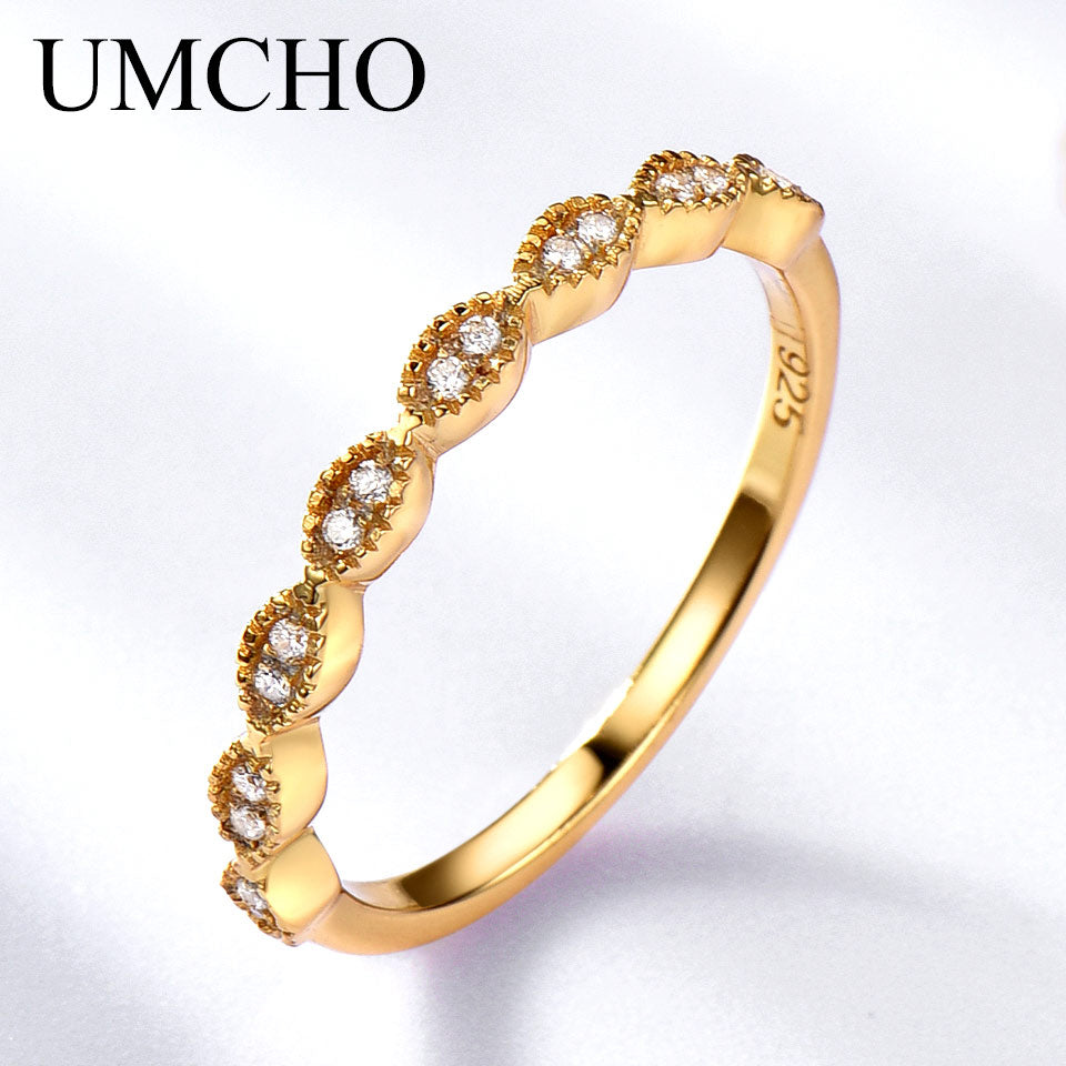 UMCHO Real Pure 925 Sterling Silver Ring - umchos