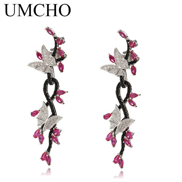 UMCHO 925 Sterling Silver Drop Earrings - umchos