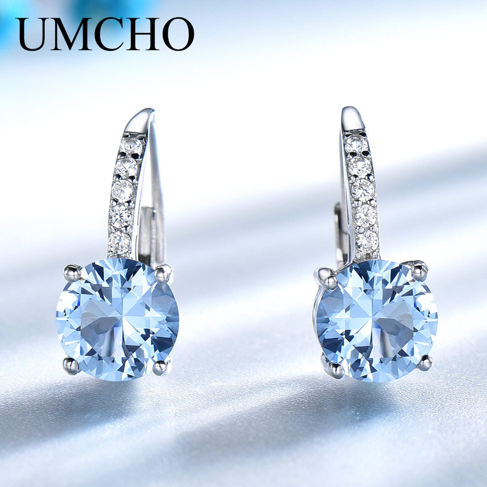 UMCHO Real 925 Sterling Silver Clip Earrings - umchos