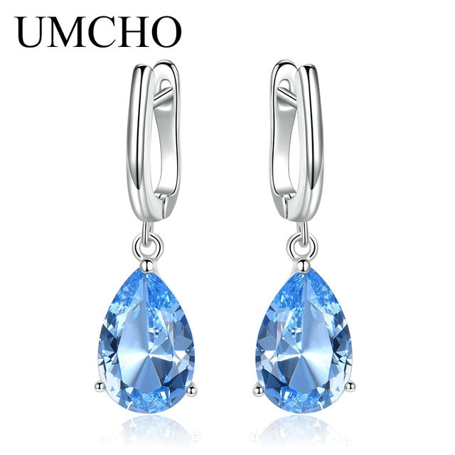 UMCHO Genuine 925 Sterling Silver Clip Earrings - umchos