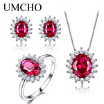 UMCHO 925 Sterling Silver Jewelry Set - umchos