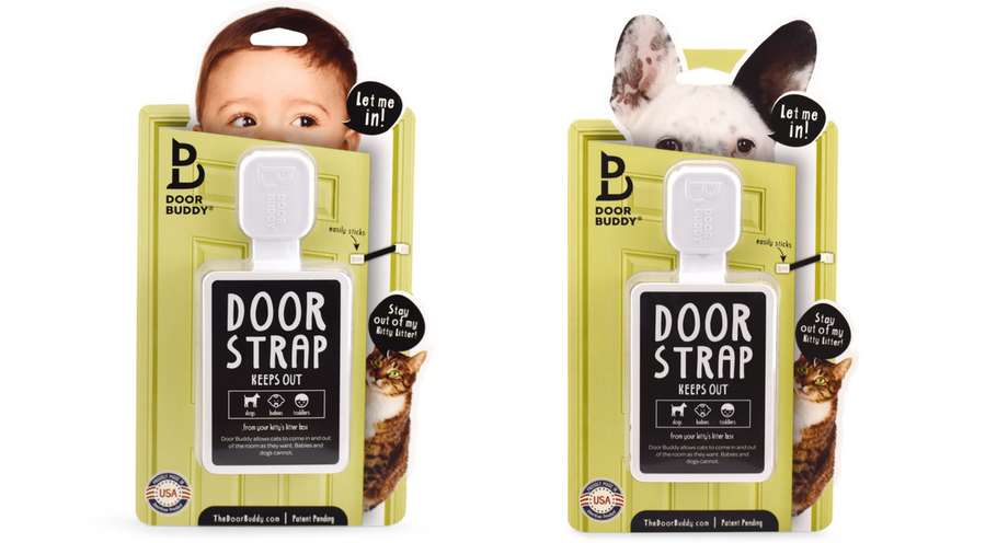 A Unique Door Latch for Baby Proofing Rooms