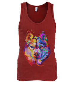 I Love My Dog Men's Tank Top