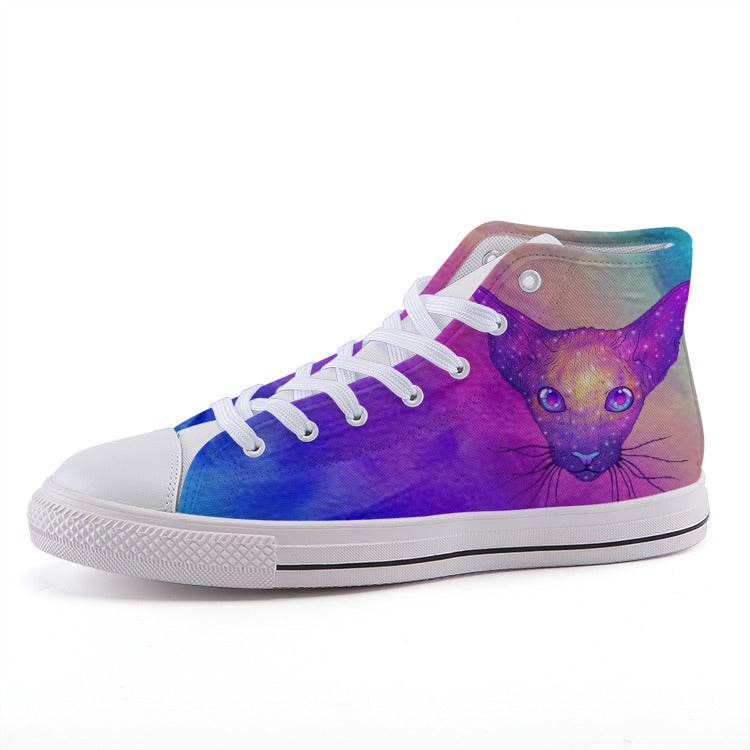 High-top fashion canvas shoes