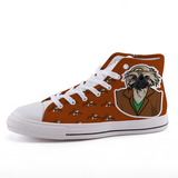 High-top fashion canvas shoes / DOGS