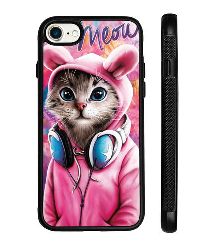 Design cat on the iphone