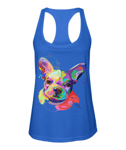I Love May Dog Women's Racerback Sport Tank