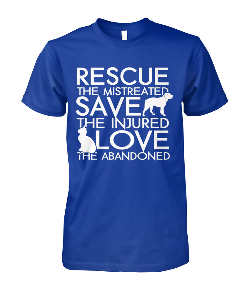 RESCUE SAVE LOVE - T SHIRT