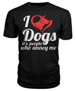 I LOVE DOGS - T SHIRT