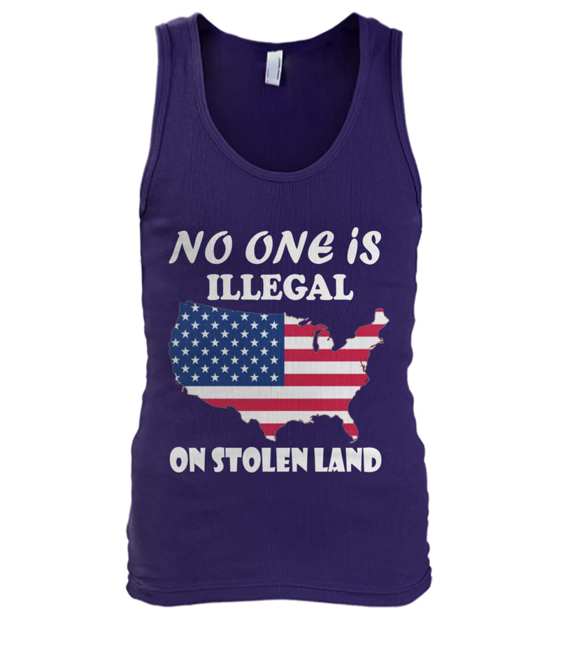 No One Is Illegal On Stolen Land Shirt