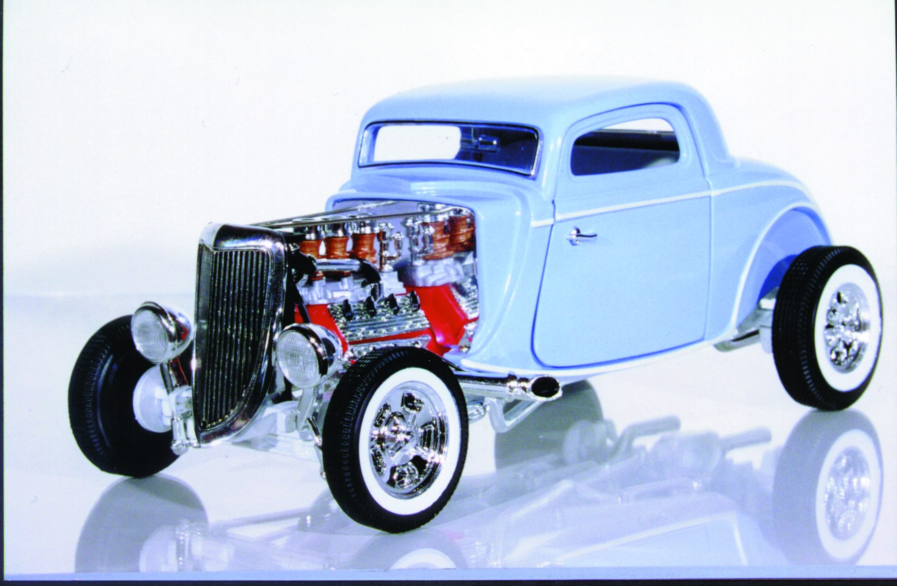 1:18 Ertl Ford Street Rod \'34 Newstalgia 3-Window Coupe baby blue ...
