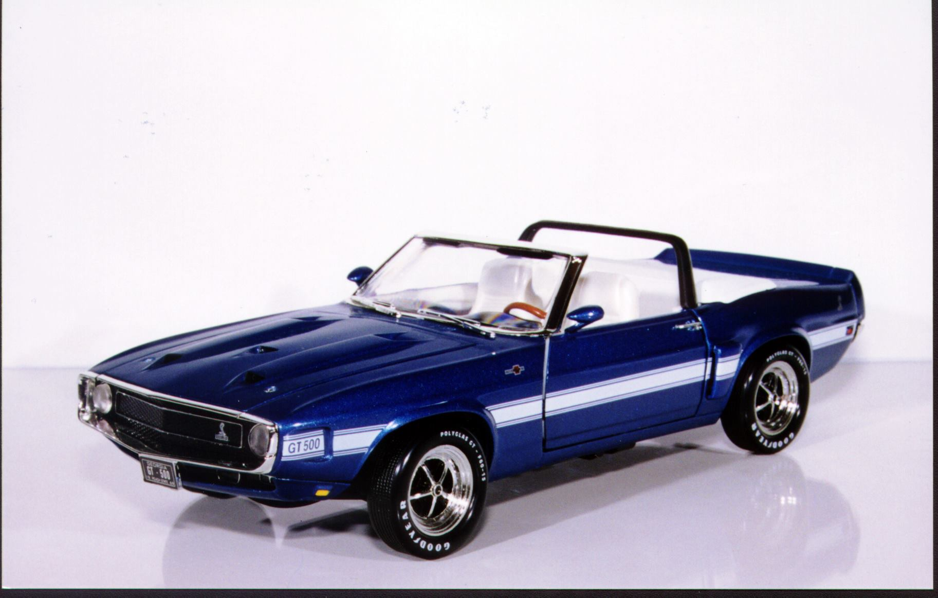 118 ertl ford mustang 69 shelby gt 500 convertible peachstate collectibles gmp limited edition 1 2500