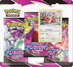 fusion strike three booster blister eevee