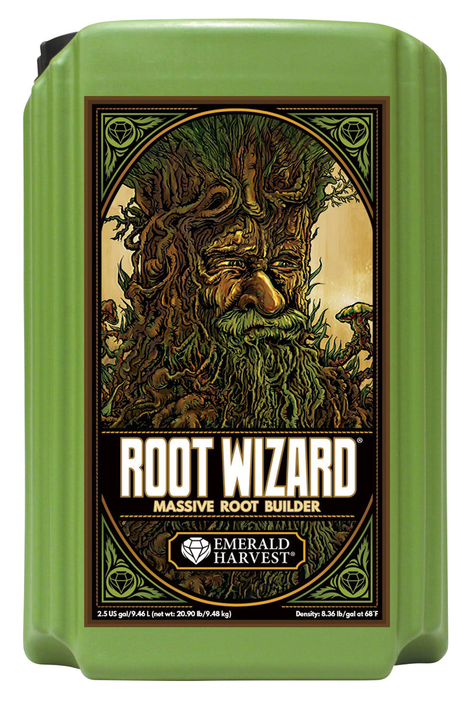 Emerald Harvest Root Wizard 2.5 Gal/9.46 L (2/Cs) (OR Label)