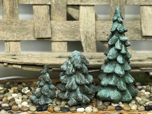 Paper Mache Glitter Trees - The Shoppes of Altavista