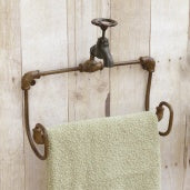Large Faucet Towel Holder - The Shoppes of Altavista