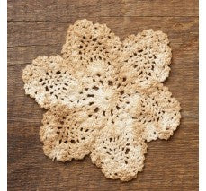 "6"" Diameter Crocheted Doily - The Shoppes of Altavista"