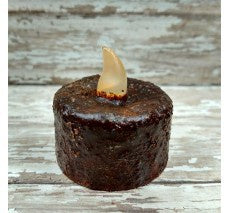 Tea Light Dark Brown Timer - The Shoppes of Altavista