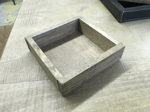 "6"" Square box Tray - The Shoppes of Altavista"