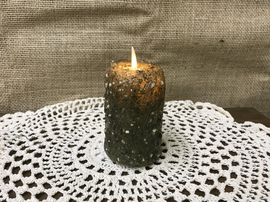 Sage Green Flickering Votive Candle - The Shoppes of Altavista