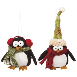 Plush Penguin Ornament - The Shoppes of Altavista