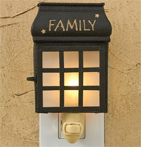 Family Lantern Night Light - The Shoppes of Altavista